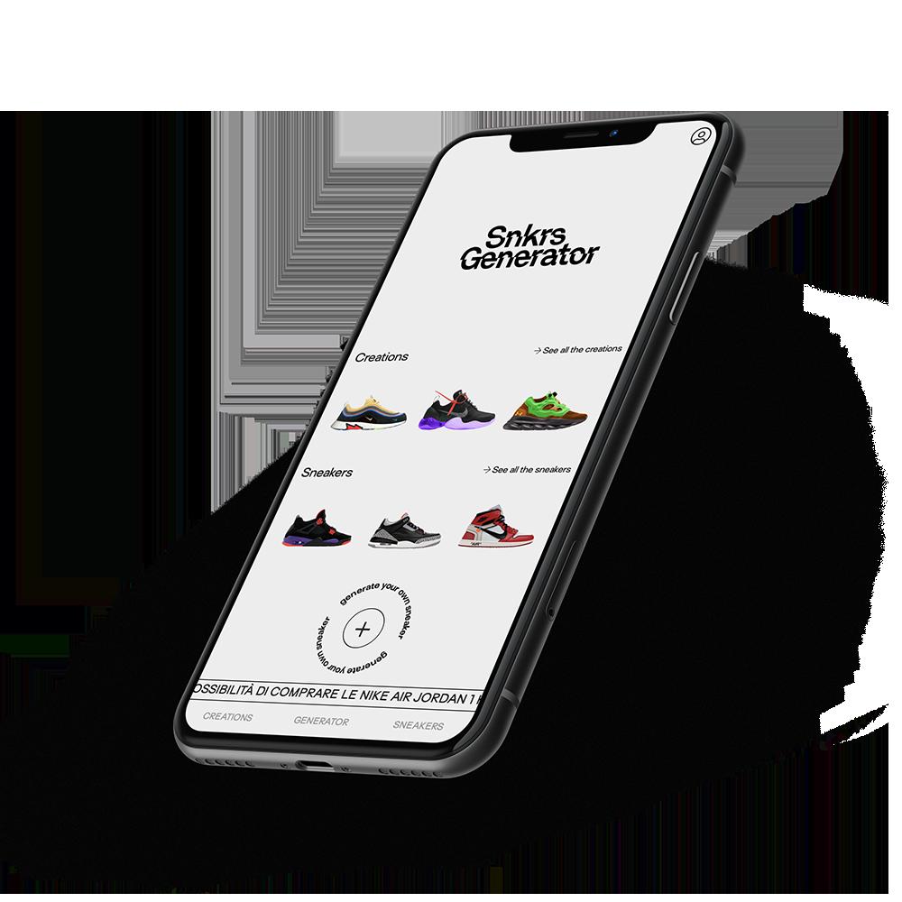 Sneakers Generator